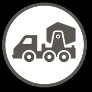 Icon für Betonarbeiten
