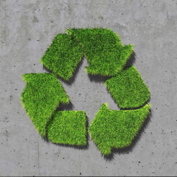 Symbol für Nachhaltigkeit für Beton als Baustoff im Straßenbau Hamburg